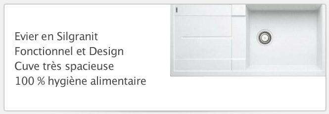 Evier Blancometra XL 6S Blanc