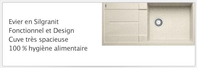Evier Blancometra XL 6S Sable