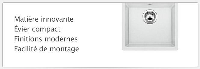 Évier Blanco Dalago 45 blanc