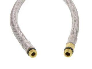 Flexible douchette tressage acier inoxydable 130 cm MZ