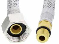 Flexible d'alimentation neutre intégré joint 55 cm sans autocollants M 10 x 1 (NF)