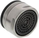 Régulateur de jet HP FE M24x1 SP22 acier inoxydable brossé GE, Haute pression