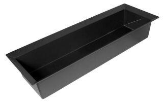 SELECT boîte traverser, plastique, noir