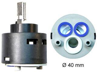 Cartouche BP 40mm ACTIS, ATOS, PALLAS NB, noir, Bas pression