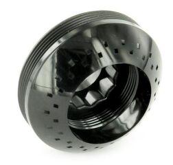 Disque de jet PALLAS-S noir avec filet extérieur, Haute pression + Bas pression