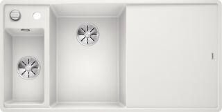 EVIER BLANCO AXIA III 6S-F DTE BLANC PLCFRE INF AUTO&SIPHON