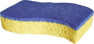 Spontex eponge bleue ingriffable (2 pièces)