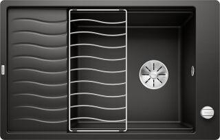EVIER BLANCO ELON XL 6S-F SGP NOIR AUTO INF