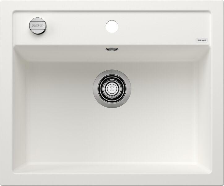 EVIER BLANCO DALAGO 6 BLANC - Vidage Automatique