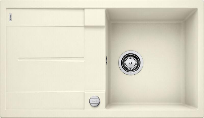 EVIER BLANCO METRA 5S JASMIN - Vidage Automatique