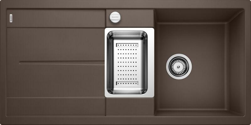 EVIER BLANCO METRA 6S CAFE - Vidage Automatique