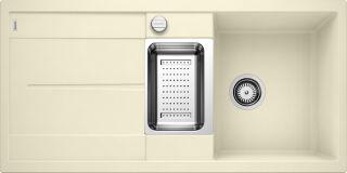 EVIER BLANCO METRA 6S JASMIN - Vidage Automatique
