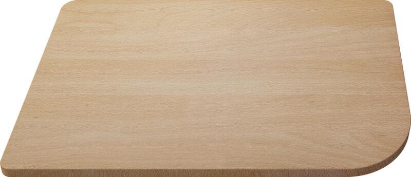 Planche a decouper en bois delta achat vente blanco 513484 - Planche a decouper bois ...
