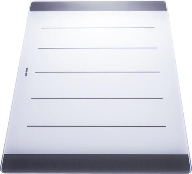 Planche a decouper en verre securit p axia achat vente blanco 225124 - Prix du verre securit ...