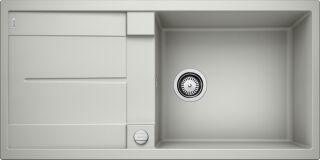 EVIER BLANCO METRA XL 6S GRIS PERLE - Vidage Automatique