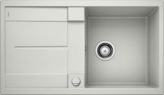 EVIER BLANCO METRA 5S GRIS PERLE - Vidage Automatique