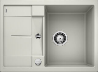EVIER BLANCO METRA 45S COMPACT GRIS PERLE - Vidage Automatique