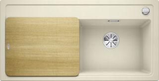 EVIER BLANCO ZENAR XL 6S PDUR GRIS PERLE EG S/ACCESSOIRES AUTO INF