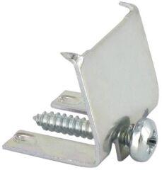 Pattes de fixation set 5 pièces chez article 218165sous-montage - clip acier inoxydable et vis - lot