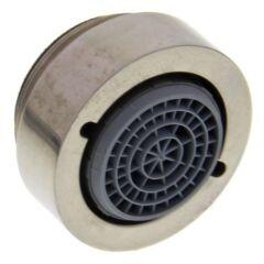 Régulateur de jet HP FE M24x1 SP22 acier inoxydable brossé aspect brillant NE NF, Haute pression